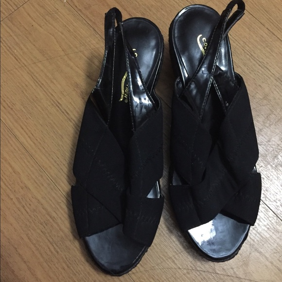 Comfortview Shoes - Black shoes.
